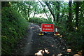 SW7725 : Road closed ahead by Bill Boaden