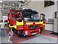 H4573 : Fire tender, Omagh Fire Station by Kenneth  Allen
