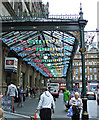 NS5865 : Glasgow Central railway station porte cochere by Thomas Nugent