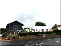 TM3569 : Peasenhall Pea Festival 2014 by Geographer