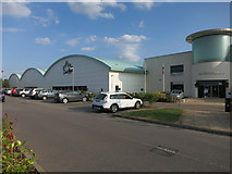 TL4857 : David Lloyd gym, Cambridge by Hugh Venables
