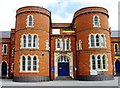 SP7561 : Northampton TA Centre,  Drill Hall by Alex McGregor