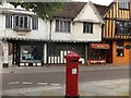 TM1644 : Victorian Penfold postbox, Silent Street, Ipswich by David Smith