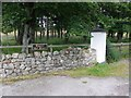 NJ6906 : Gated entrance to Upper Balblair by Stanley Howe
