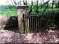 NJ7005 : Gateway to Midmar Castle (disused) by Stanley Howe