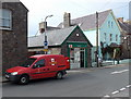 SM7525 : Royal Mail van outside St David's post office by Jaggery