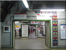 TQ2981 : Tottenham Court Road tube station - Paolozzi mosaic, lower hall by Mike Quinn