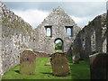 NX6053 : Old church at Girthon by M J Richardson