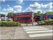 SJ7760 : Happy Al's at Sandbach Services by David Dixon