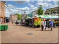 SP4540 : Open Air Market, Banbury by David Dixon