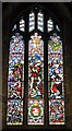 NZ2464 : The Cathedral Church of St. Nicholas - stained glass window, north aisle by Mike Quinn