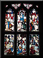 NZ2464 : The Cathedral Church of St. Nicholas - stained glass window, south transept by Mike Quinn