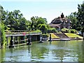 SU9974 : Lock Keeper's Cottage, Old Windsor Lock by David Dixon