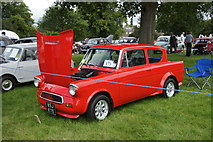 NO3847 : Ford Anglia at the Scottish Transport Extravaganza, Glamis Castle by Mike Pennington