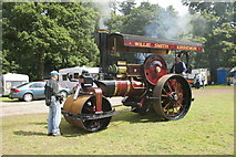 NO3847 : Steam engine at the Scottish Transport Extravaganza, Glamis Castle by Mike Pennington