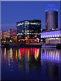 SJ8097 : Offices at Salford Quays by Rod Allday