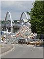 SK5438 : Ring Road Bridge by Alan Murray-Rust
