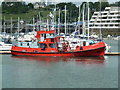 SX4553 : Marina in Plymouth Harbour by Chris Allen