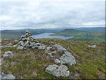 SH8240 : Summit cairn on Y Foel by Richard Law