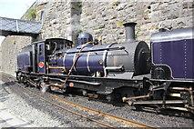 SH4862 : Welsh Highland Railway Loco at Caernarfon by Jeff Buck
