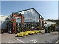 SJ3860 : Entrance to Grosvenor Garden Centre by Richard Hoare