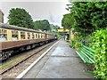 SU5832 : Watercress Line, Alresford Station Platform 2 by David Dixon