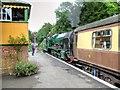 SU5832 : Alresford Station, Mid-Hants Railway by David Dixon