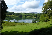 NY3404 : Across Loughrigg Tarn by DS Pugh
