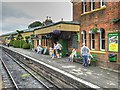 SU6232 : The Watercress Line, Ropley Station by David Dixon