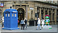NS5965 : Police box and thistle by Thomas Nugent