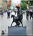 NS5965 : Human statue on Buchanan Street by Thomas Nugent