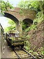 SU7138 : The Mid-Hants Railway, Mount Pleasant Road Bridge by David Dixon
