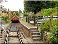 SU5832 : Class 08 Diesel Shunter at Alresford by David Dixon