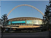 TQ1985 : Wembley Stadium by Gareth James