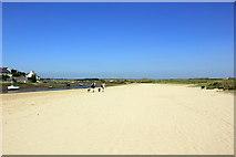 SH3568 : The Anglesey Coastal Path at Aberffraw by Jeff Buck