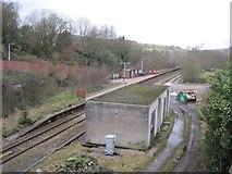 SD7217 : Entwistle railway station, Blackburn with Darwen by Nigel Thompson
