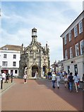 SU8604 : Chichester, Market Cross by Mike Faherty