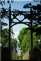SO6028 : Foy suspension bridge by John Winder