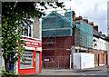 J3272 : Renovation work, Donegall Avenue, Belfast (July 2014) by Albert Bridge