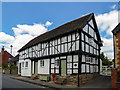 SO3958 : Black and White Houses, Pembridge, Herefordshire by Christine Matthews