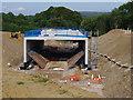 SD4964 : Shefferlands Bridge under construction by Ian Taylor
