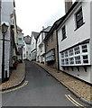 SX8751 : Narrow part of Smith Street, Dartmouth by Jaggery