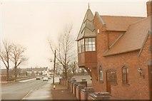 SJ9603 : Bursnip Road crossing cottage and signal box by John Winder
