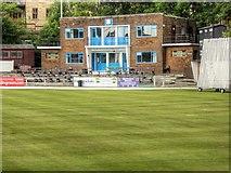 SD8122 : Rawtenstall Cricket Club by David Dixon