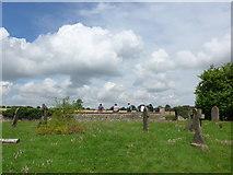 SO9700 : St Matthew, Coates: churchyard (E) by Basher Eyre