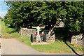 SH7258 : Capel Curig War Memorial by Graham Hogg