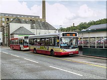 SD8122 : Rawtenstall Bus Station, Bacup Road by David Dixon