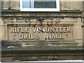 SD4761 : 'Rifle Volunteer Drill Hall' by Karl and Ali