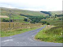 NY7346 : Lane across the Nent valley by Oliver Dixon