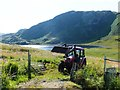 NR3795 : Tractor, Lower Kilchattan, Colonsay by Alpin Stewart